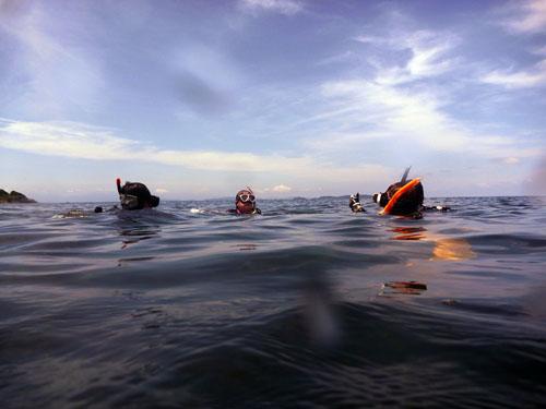 7月22日 恋の浦でダイビング
