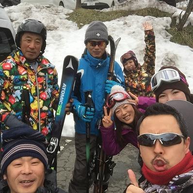 2月25日 スキー&スノボ