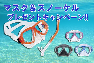 夏のダイビングスクールキャンペーン