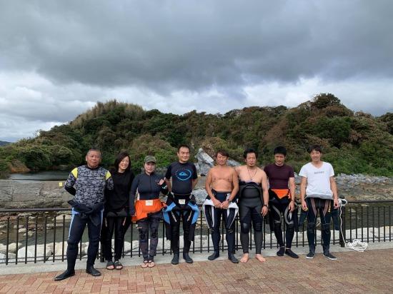 9月13日 津村島水中清掃