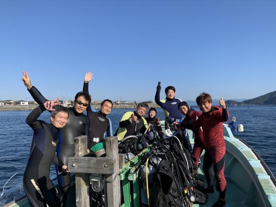 高知県柏島でダイビング