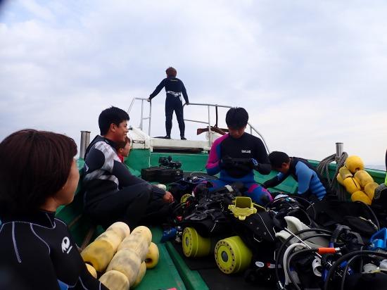 相島ボートダイビング