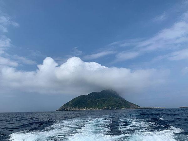 宗像沖ノ島でダイビング